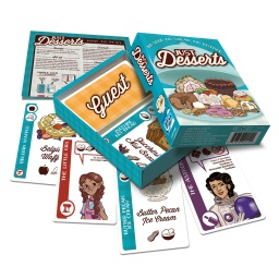Game Gumshoes Presents: Just Desserts by Looney Labs